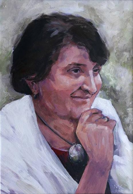 Portret Mama